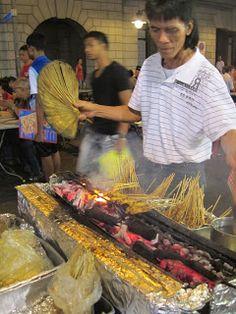 Satay Street Singapore Street Food
