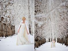 Amazing winter Bridal shoot by etf photography