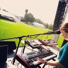 #Soundcheck Todo listo! Nos encontramos 14:00hrs. 16/05 #Fest #Mariachela2015 #music #electro #folk