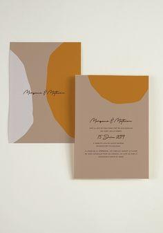 Faire Part - Laguna beach - W/ graphic design - mariage Poster Design, Graphic Design Branding, Typography Design, Print Design, Laguna Beach, Stationery Paper, Wedding Stationery, Wedding Invitations, Brand Packaging