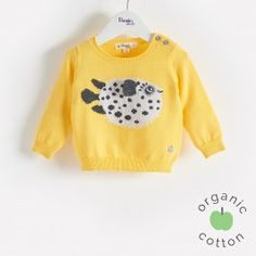 The Bonnie Mob pufferfish sweater
