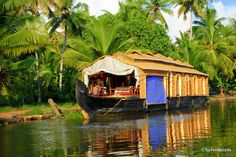 The houseboats of Kerala