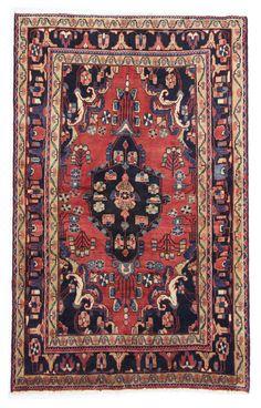 Orientteppich zimmer  Sarug Handgeknüpft Perser Teppich Rugs 244 x 152 cm tapis orient ...