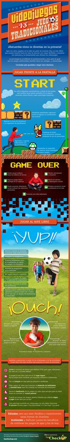 Conoce las ventajas y desventajas de los videojuegos. Visita www.hazcheckup.com y evalúa sin costo tu salud.