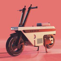 Futuristic Helmet, Futuristic Motorcycle, Old School Motorcycles, Concept Motorcycles, Honda Dirt Bike, Motorcycle Bike, Eletric Bike, Bike Sketch, Mini Bike