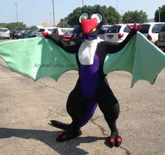 Pokemon X/Y noivern cosplay tutorial by Megan View the full tutorial here:http://animefuriku.com/pokemon-x-and-y-noivern-cosplay-costume-tut...