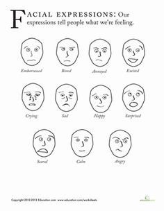 Get to know the different emotions we feel by learning how to draw facial expressions!