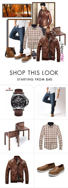"""""""NEWCHIC 107. (Men 5.)"""" by carola-corana ❤ liked on Polyvore featuring men's fashion and menswear"""