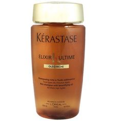 Kerastase Elixir Ultime Oleo Riche-Rich Shampoo With Beautifying OIL FOR Thick Hair 8.5oz