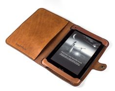 KINDLE PAPERWHITE ALL LEATHER CASE Need help making your order? Watch this short video. . . . . . . . . . . . . . . . . . . . . . . . . . . . . Construction time is 2 weeks. Free USPS Priority shippin