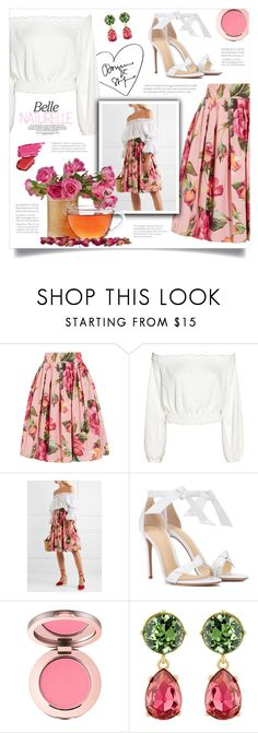 """""""Untitled #738"""" by metalhippieprincess ❤ liked on Polyvore featuring Dolce&Gabbana, Alexandre Birman and Kenneth Jay Lane"""