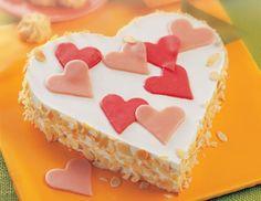 Muttertags-Torten-Herz - Rezept - ichkoche.at