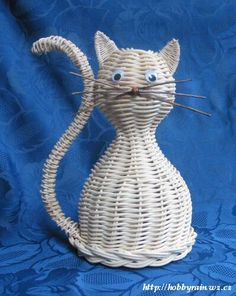 котик из ротанга