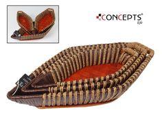 Conjunto de cestas a juego, ideales para ropa y accesorios. Elegantes y casuales.