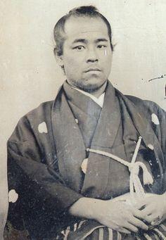 後藤象二郎 GoTo shojiro Samurai Weapons, Samurai Warrior, Japanese History, Japanese Culture, Vintage Japanese, Japanese Art, Old Pictures, Old Photos, The Last Samurai