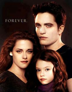 Twilight Saga - Edward, Bella & Renesmee Cullen