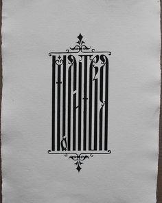 Молитва #каллиграфия #леттеринг #кириллица #вязь #calligraphy #lettering #art #handlettering #design #typography #sketch #vyaz