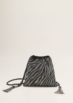 Discover the latest trends in Mango fashion, footwear and accessories. Mango, Halter Gown, Embroidered Bag, Holiday Outfits, Holiday Clothes, Beautiful Bags, Style Guides, Women's Earrings, Drawstring Backpack