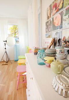 My Studio (food props) Jackie Rueda Photography
