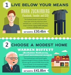 Infographic: 11 Frugal Habits Of The Super Rich - DesignTAXI.com