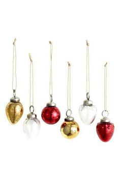6-pack Christmas decorations