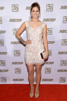 Cassadee Pope - Arrivals at the ASCAP Country Music Awards