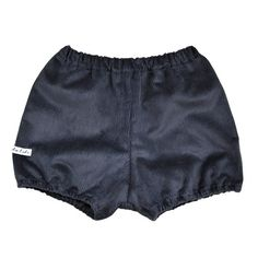 Babies Bloomers in Navy Blue Corduroy by KhuduKids on Etsy