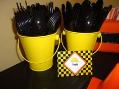 Construction party Birthday Party Ideas | Photo 8 of 25 | Catch My Party