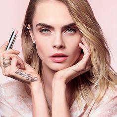 Dior Addict Lip Glow - Dior | Sephora Dior Lip Glow, Dior Lipstick, Dior Makeup, Lipsticks, Cara Delevingne Photoshoot, Cara Delvingne, Lineisy Montero, Dior Addict, Campaign Fashion