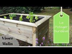 tutolibre - tutoriels - DIY gratuits - free DIY - tutorials - paso a paso - crafts- artesania - ремесел. Building A Raised Garden, Raised Garden Beds, Visser Malin, Plan Potager, Keep Calm And Diy, Potager Palettes, Gothic Garden, Garden Deco, Garden Boxes