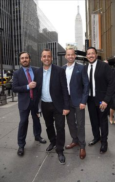 Impractical jokers In there suits very sexy ❤️
