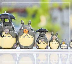 My Neighbor Totoro Mini Figure Desk Decoration Fairy by GfanStudio