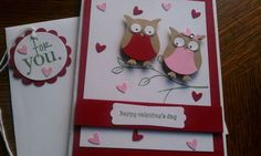 I have this Stampin'Up! Owl Punch!  Love | http://giftsforyourbeloved.blogspot.com