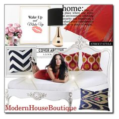 """""""Modern House Boutique 51"""" by sabinn ❤ liked on Polyvore featuring interior, interiors, interior design, home, home decor, interior decorating, WALL and modern"""