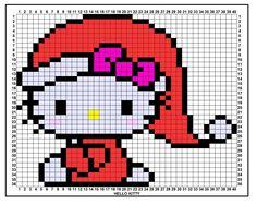 Perle ou elastique Croquis Hello Kitty