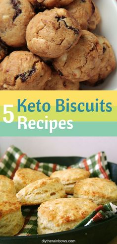 We all know that biscuits are not low-carb. However, with the right substitutions and experimenting, you can make low-carb biscuits when you are in ketosis. Let's try these 5 keto biscuits recipes. Healthy Low Carb Dinners, Healthy Low Carb Recipes, Low Carb Dinner Recipes, Keto Recipes, Snack Recipes, Induction Recipes, Tofu Recipes, Sweets Recipes, Cake Recipes