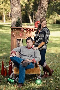 New Post christmas couple picture ideas