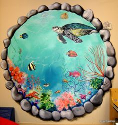 #Aquarium #Mural - Mulberry School