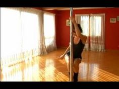Here are some beginning pole dancing videos.