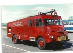 fire engines | Fire Engines Photos 1950's Bedford
