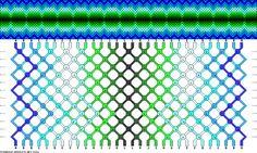 Muster # 91422, Streicher: 30 Zeilen: 12 Farben: 12