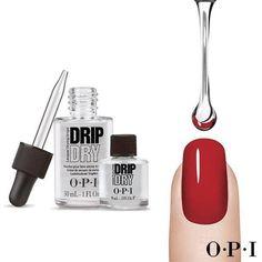 Olvídate de las marcas en tus uñas gracias al secante rápido #DripDry. Estas gotitas mágicas harán secar tu esmalte en tan solo 3 minutos!!!