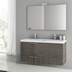 Bathroom Vanity, ACF ANS08, 47 Inch Bathroom Vanity Set ANS08