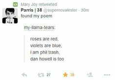 Literally....we're all phil trash