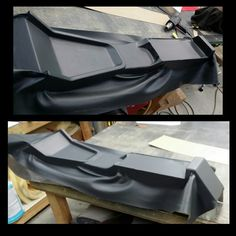 Stretching a little leather. Custom Car Interior, Car Interior Design, Truck Interior, Camaro Interior, Car Interior Upholstery, Automotive Upholstery, Custom Car Audio, Custom Cars, Couture Cuir
