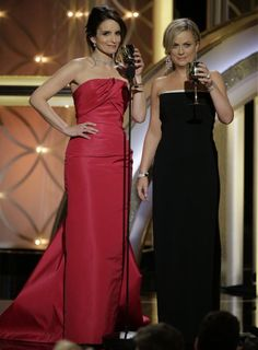 The 8 Best Amy Poehler and Tina Fey Moments From the 2014 Golden Globes