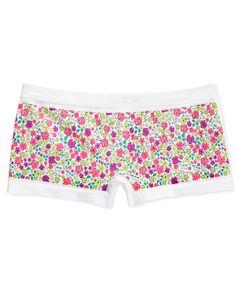 Maidenform Girls' or Little Girls' Floral-Print Minishort Underwear