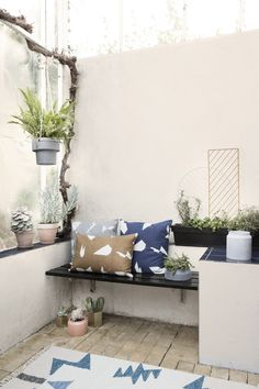 ferm LIVING design for the living room. Shop design for your living room online. Danish design furniture and interior - We offer low cost shipping! Outdoor Sofa, Outdoor Spaces, Outdoor Living, Outdoor Decor, Nachhaltiges Design, House Design, Design Shop, Design Ideas, Backyards
