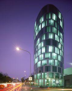 ZEB Headquarters at night