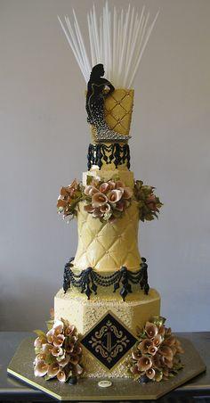 Indian Weddings Inspirations. Yellow Wedding Cake. Repinned by #indianweddingsmag indianweddingsmag.com #weddingcake